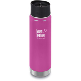 Klean Kanteen Wide Vacuum Insulated Drinkfles Café Cap 2.0 592ml roze